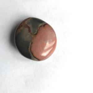Jaspe impériale galet rond 6.9 cm